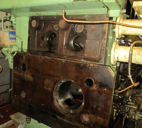 Ships pump under repairs